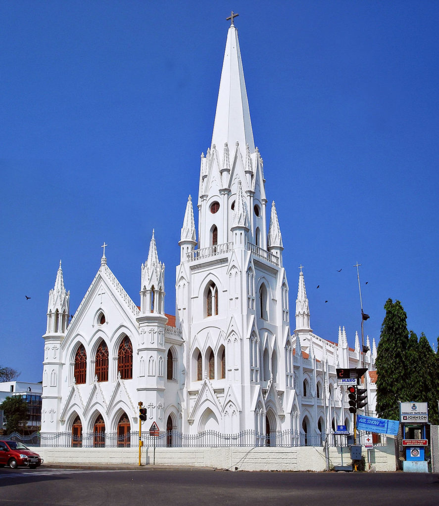 religious buildings in Chennai