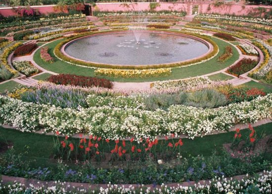 More About Mughal Garden New Delhi And Historical Information